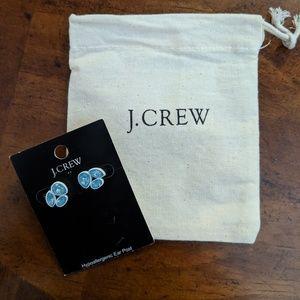 J Crew Blue Earrings